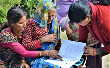 Alfabetització de dones a Mahendranagar