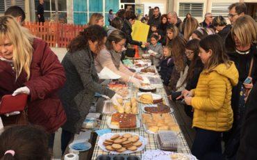 Segon berenar solidari a l'escola Joan Blanquer