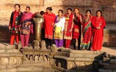Visita del Programa WLP a Namo Budha