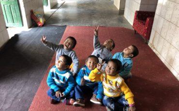 Nous nens a Balmandir- Bhimphedi
