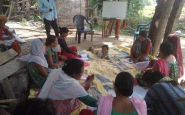 Alfabetització de dones a Mahendranagar 2018