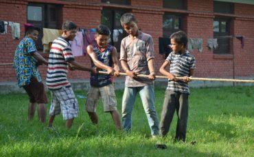 Amor Children's Home: Evento deportivo