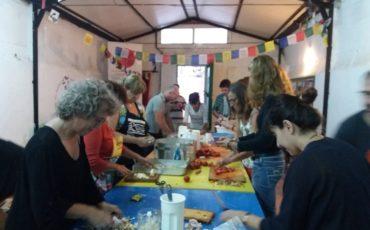 Sopar solidari a Vilassar