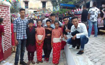 Bhimsen Jatra, the yearly festival of Bhimphedi