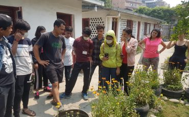Urban Garden Field Visit: After S.E.E. Course 2019