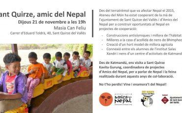 Sant Quirze, amigo del Nepal (21 de noviembre)