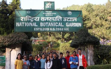 Visit to National Botanical Garden in Godawari