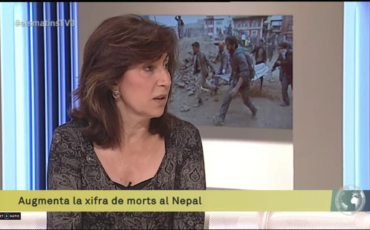 Cristina Morales explains how Amics del Nepal lived the Earthquake of 2015