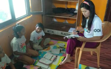 During confinement, home schooling