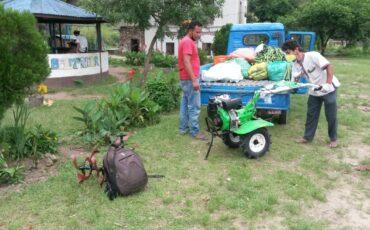 Namuna Bari's new equipment