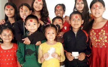 La celebración de Dashain en las casas de acogida